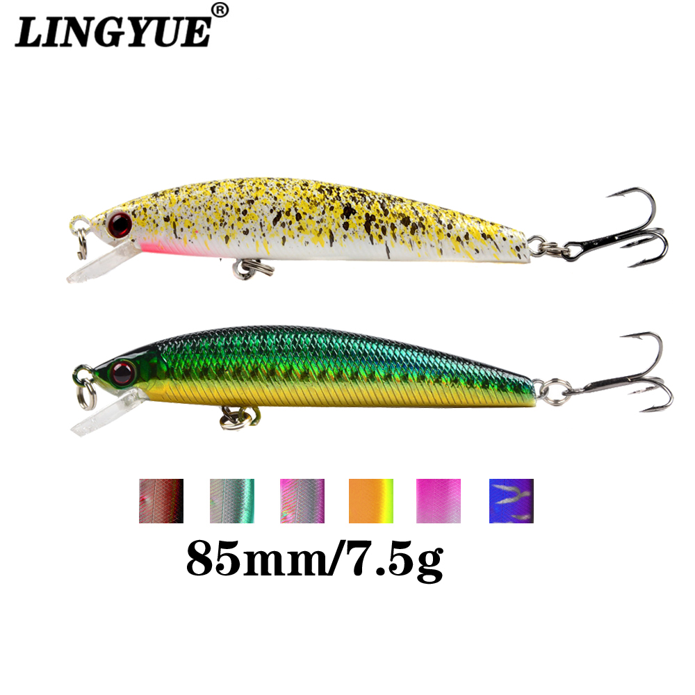 59pcs//lot Mixed Fishing Lures Assorted Minnow Lure Crank Bait Crankbaits Tackle