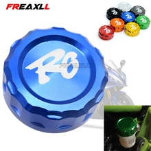 Motorcycle Accessories Rear Brake Fluid Reservoir Cap Oil Cup R6 For Yamaha YZFR6 YZF yzf-r6 2006-2014