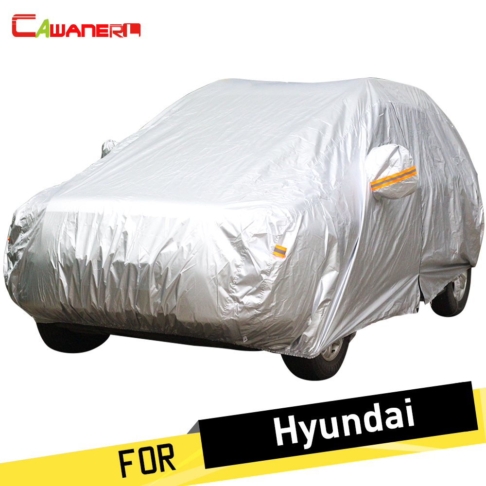 Cawanerl Auto Car Cover Anti UV Sun Rain Snow Dust Protection Cover For Hyundai Dynasty Veracruz