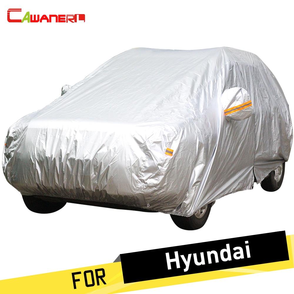 Cawanerl Auto Car <font><b>Cover</b></font> Anti UV Sun Rain Snow Dust Protection <font><b>Cover</b></font> For <font><b>Hyundai</b></font> Dynasty Veracruz Accent Azera Elantra Solaris