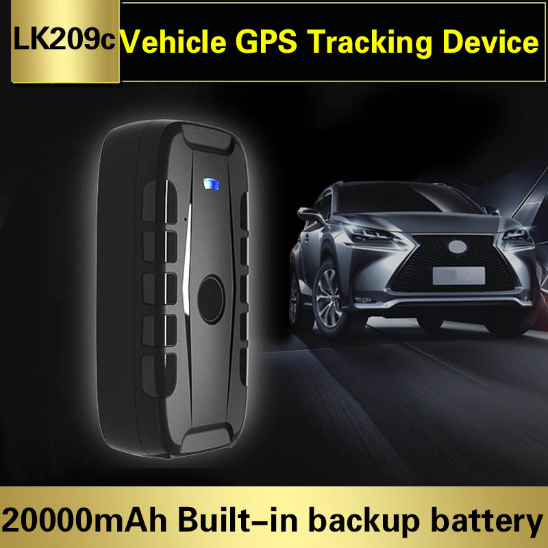 2G Car GPS Tracker LK209C Auto Truck GPS Tracking Device Real Time Vehicle Locator Magnet Standby Time 240 Days Waterproof IP67
