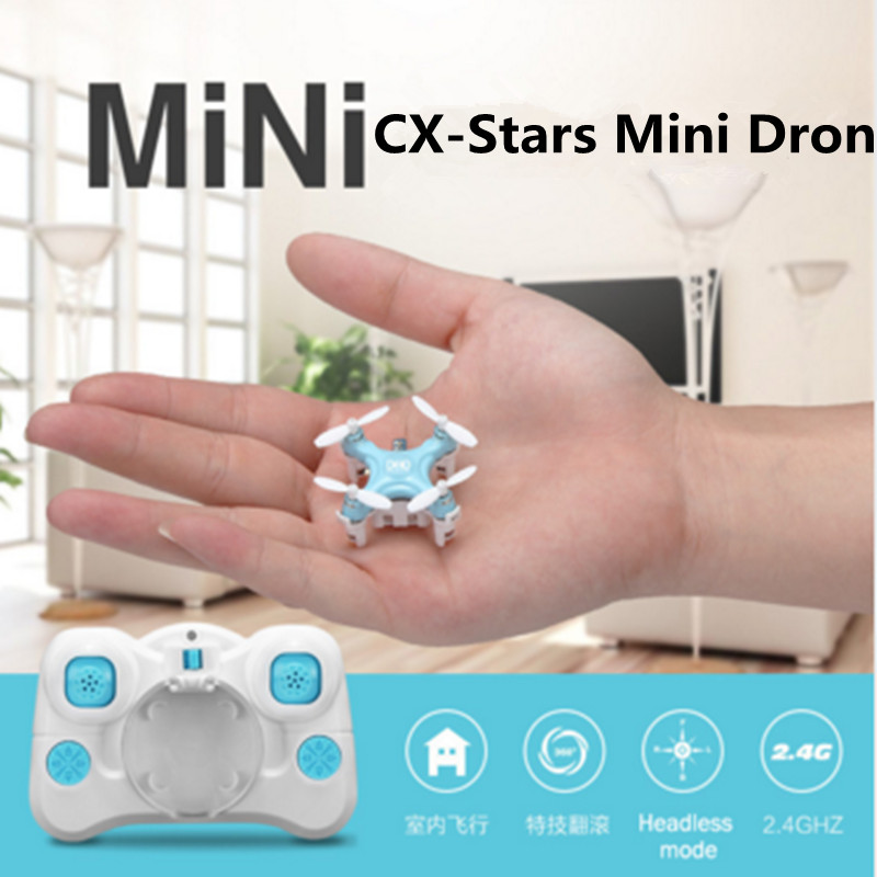 mini RC font b Drone b font Quadcopter helicopter CX Stars 4CH shatterproof Mode 2 RC