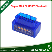 MINI ELM327 Bluetooth ELM 327 Version 1.5 OBD2 / OBDII for Android Torque Car Code Scanner free shipping