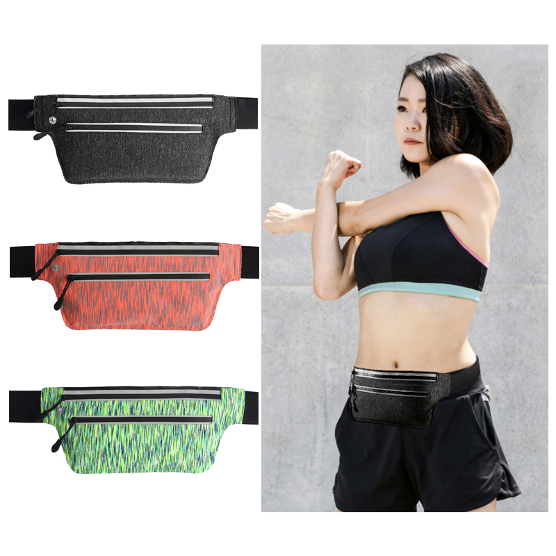 Smart Best Trail Running Bag Waist Workout With Night Reflective Strap Men Women Gym Jogging Bum Belly Belt Pack Sport Accessories Factories And Mines Relojes Y Joyas