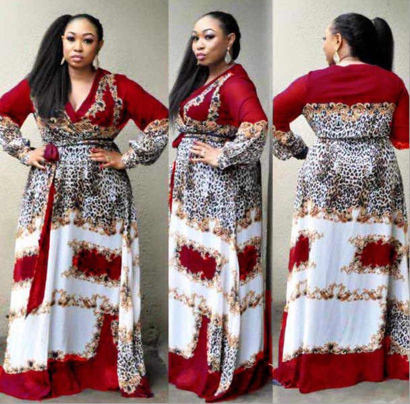 b468d2fbd3050 2019 new arrival spring and autumn african women plus size sequined ...