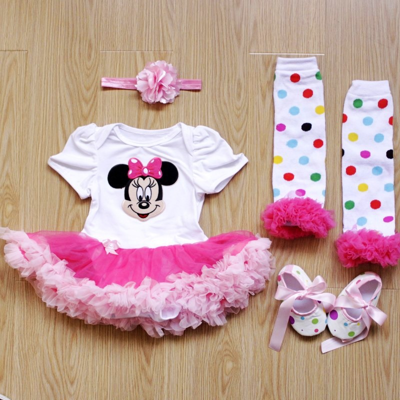 Aliexpress.com : Buy Christmas 2018 Newborn Minnie Dress 4pcs/set ...