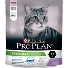 Сухой корм Purina Pro Plan для стерилизованных кошек и кастрированных котов старше 7 лет, с индейкой, Пакет, 400 г