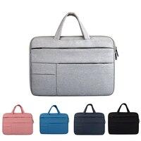 ZIMOON Laptop Bag For Macbook Air Pro 11 13 15 17 Inch Multifunction Waterproof Notebook Handbag