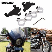 Gauntlet Fairing Trigger Lock Mount Kit Head Cover Motorcycle Kit for Harley Sportster 1200 883 XL Motorcycle Accessories