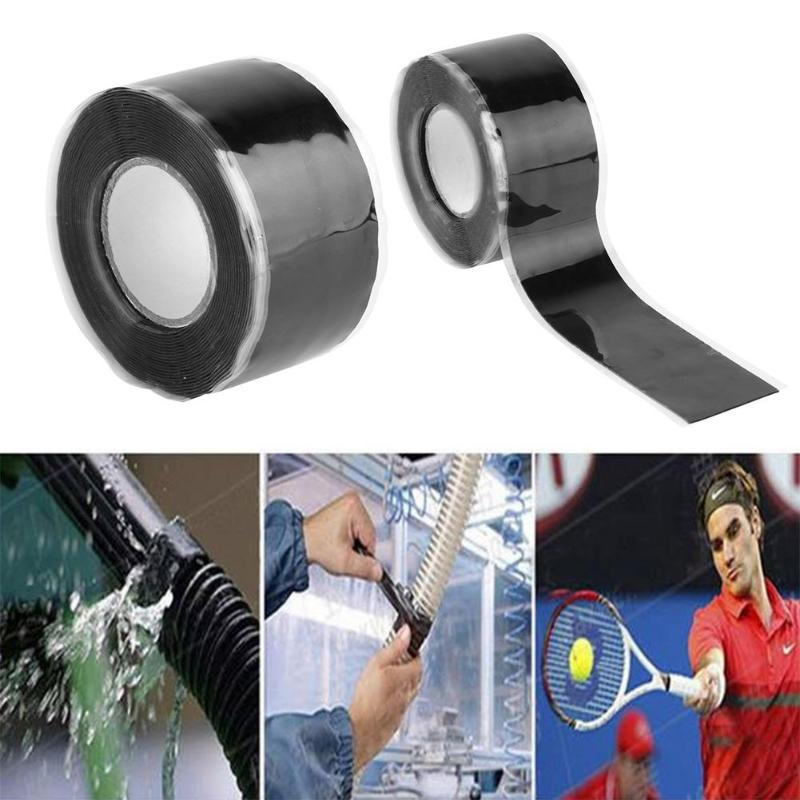 3M Universal Waterproof Black Silicone Repair Tape Bonding Home Water Pipe Repair Tape Tools Strong Pipeline Seal Repair Tape