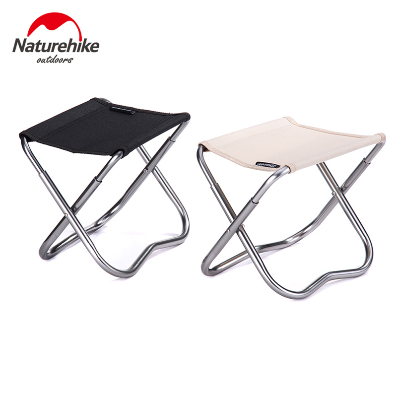 Naturehike Outdoor Ultralight Portable Foldaway Stool Camping Fishing Chair Leisure Camp chair Small Stool NH15Z011-D 2016 portable folding chair military camp stool