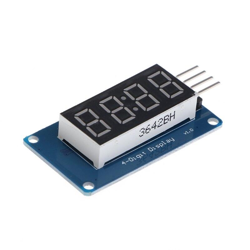4 биты TM1637 цифровой трубки светодиодный часы Дисплей модуль связи UNO 2560 R3 для Arduino