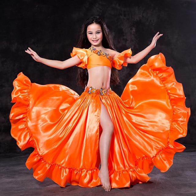 4e3be8862 Newest Fashion Ruffle Short Sleeve Belly dance Skirt 2pcs set for ...