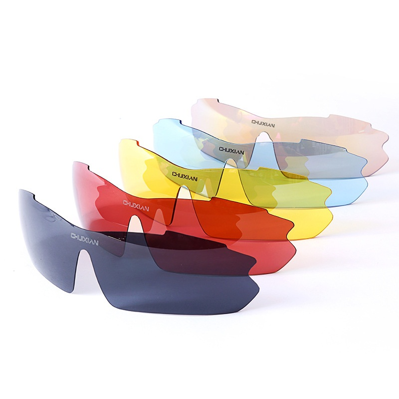 1119b7230b Polarized Fishing Glasses 5 Lens Watch Fish Float Boxed Eyewear Increased  Clarity Lens Filter Blue Light Anti UV Sunglasses-in Fishing Eyewear from  Sports ...