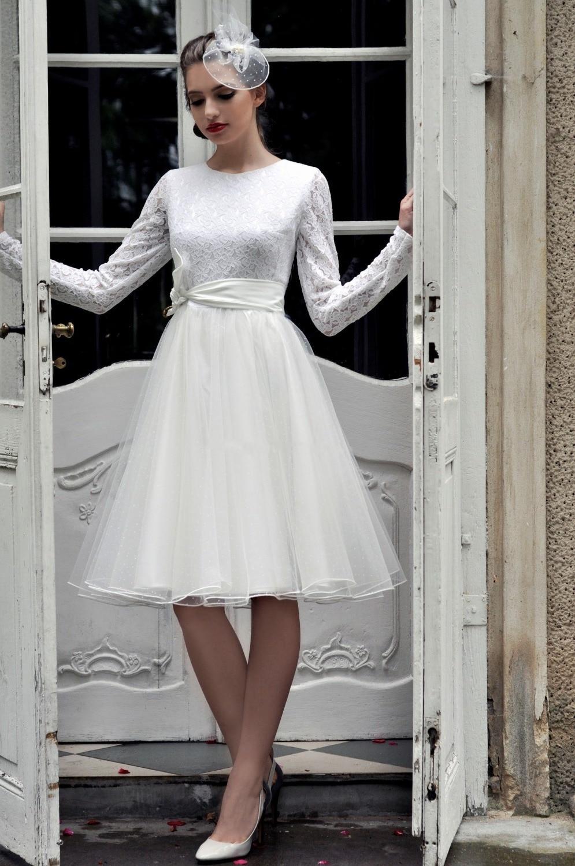 Short wedding dresses with long sleeves for Buy short wedding dress