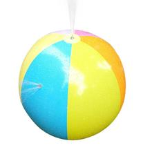 Inflatable Spray Water Ball Children's Summer Outdoor Swimming Beach Pool Play The Lawn Balls Color Beach Sprinkler