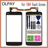 OLPAY 5.0 ''Touch Glas Panel Voor Philips i908 Touch Screen Digitizer Glas Sensor Tools Gratis Lijm + Clear Doekjes-in Mobiele Telefoon Touch Paneel van Mobiele telefoons & telecommunicatie op