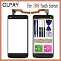OLPAY 5.0'' Touch Glass Panel For Philips i908 Touch Screen Digitizer Glass Sensor Tools Free Adhesive+Clear Wipes