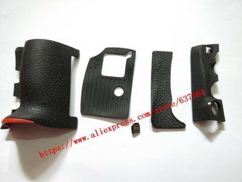 NEW Original A Set Of Body Rubber Front cover and Back cover Rubber For Nikon D810 Repair Spare Part