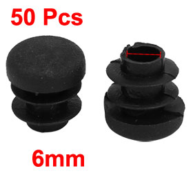 Uxcell Hot Sale Furniture Table Chair Leg Foot Plastic Round Shape Cover Pads 14.5mm Dia 50pcs Leveling Foot Furniture Glide
