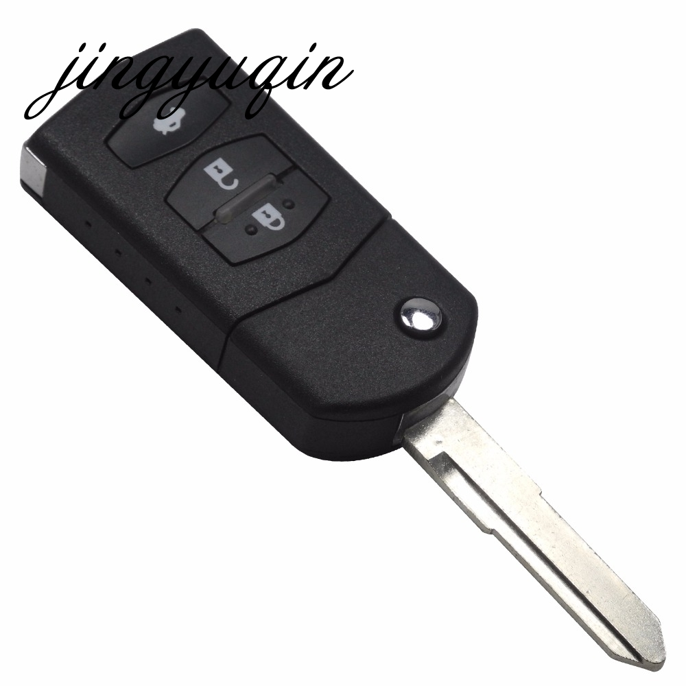 Remote Control Fob Combo Uncut Ignition Key 3BTN for Mazda 2 3 5 6 FCC:KPU41788