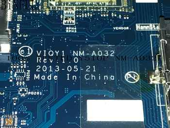 BiNFUL 100% HIGH QUALITY,  VIQY1 NM-A032 REV : 1.0  FOR LENOVO Y510P LAPTOP MOTHERBOARD, ON BOARD  GT755 /GT750 2GB (tested ok) - DISCOUNT ITEM  5% OFF All Category