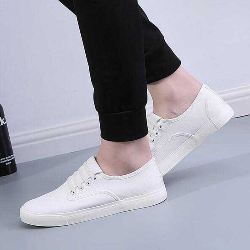 2016 brand casual shoes breathable canvas white