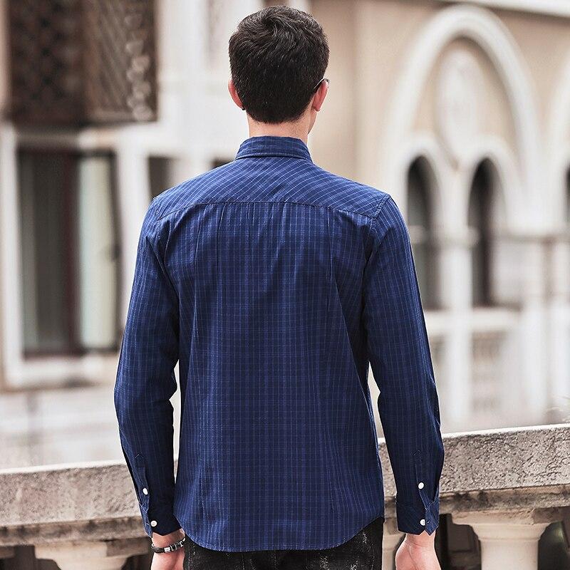 Pioneer Camp chemise à carreaux hommes manches longues nouvelle - Vêtements pour hommes - Photo 4