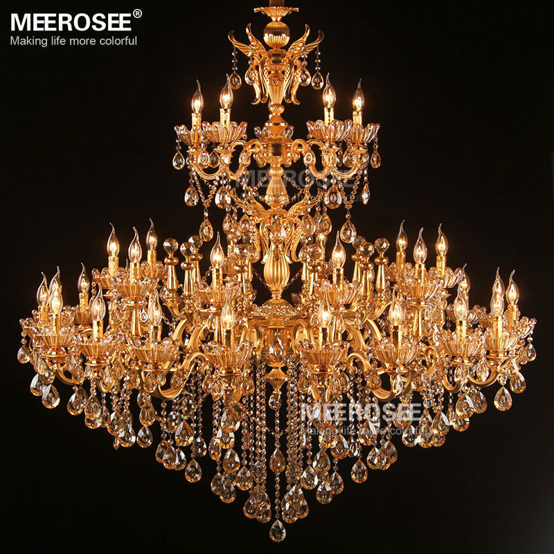 Մեծ արքայական ոսկե բյուրեղապակի - Ներքին լուսավորություն - Լուսանկար 2