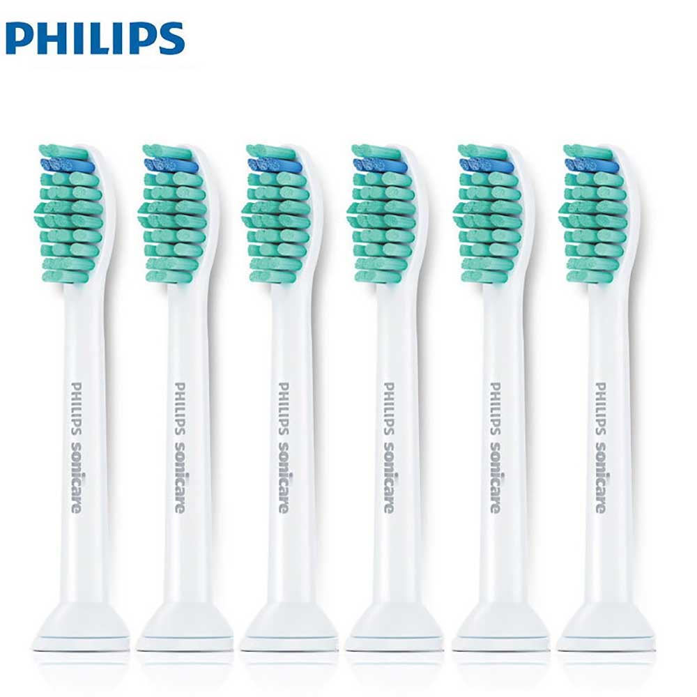 Philips Sonicare ProResults Electric Toothbrush Head HX6016 Standard Toothbrush Head 6 Pack for HX6730 HX6761 HX6511 image