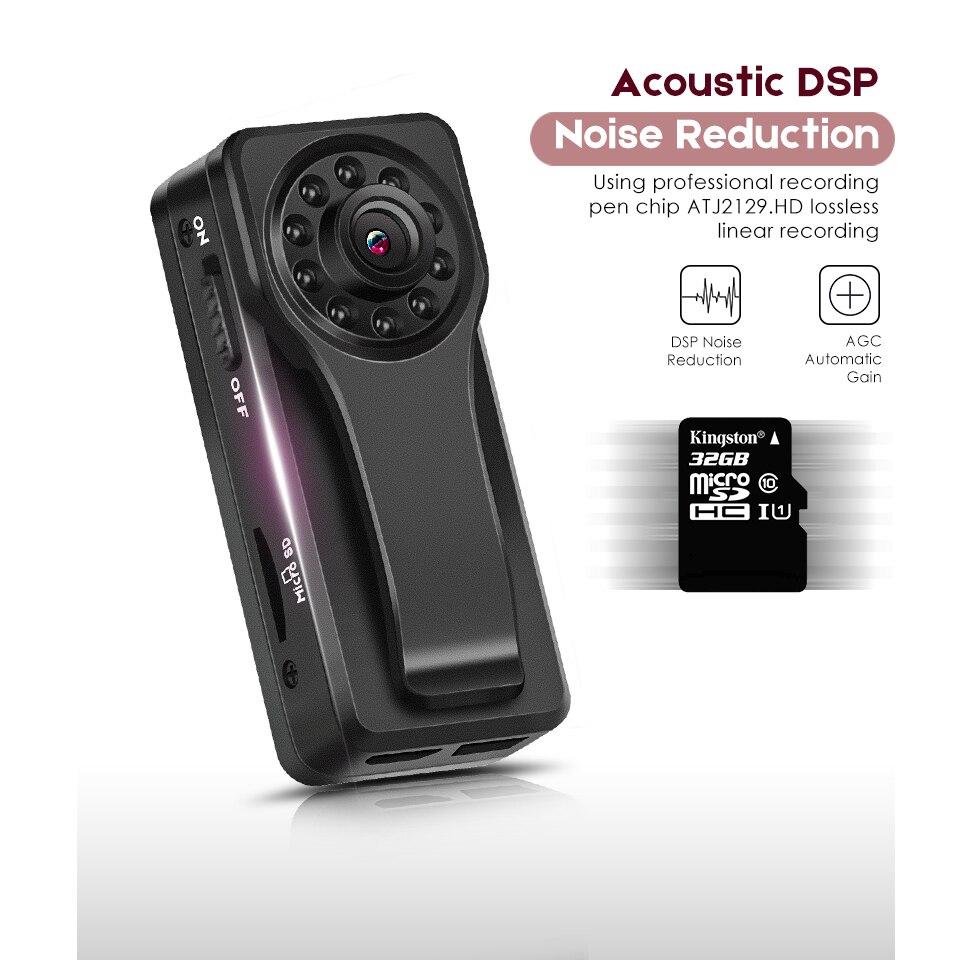 Enregistreur numérique caché stylo Audio vidéo Dictaphone registraire poignée cachée caméra enregistrement vidéo réduction du bruit puce DSP noir