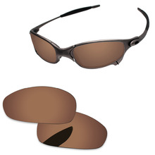 04cd7a9ab Brown de cobre polarizou lentes de substituição para juliet óculos de sol  quadro 100% uva & uvb proteção