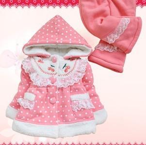 Anlencool 2017 Otoño y El invierno ropa de bebé de Algodón set de meses de edad bebé niña arrugado establecidos