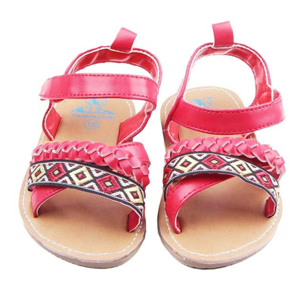 LONSANT Fashion Infant Newborn Baby First Walker Toddler Anti-slip Shoes Sandals Children Footwear Baby Toddler Shoes