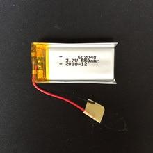 3,7 в 550 мАч 602040 литий-полимерный литий-ионный аккумулятор для Mp3 MP4 MP5 gps psp mobile bluetooth