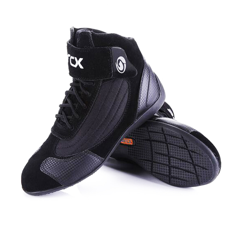 ARCX 60053 Motorcycle Female male Boots Genuine Cow Leather boot Motocross Racing Boots Chopper Cruiser Touring