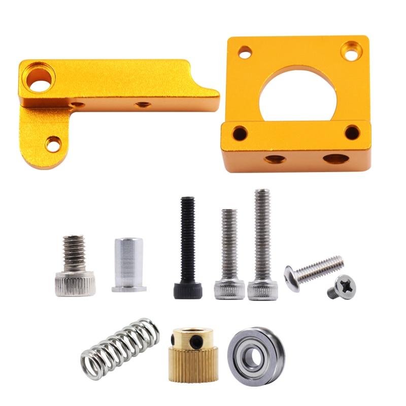 МК8 екструдер алюмінієвий блок DIY комплект виділені одноразові екструзійні головки алюмінієвий блок безкоштовна доставка