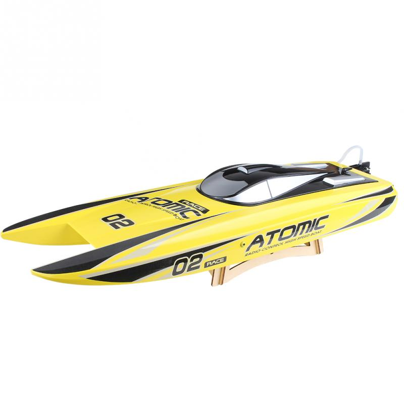 RC قارب Volantex V792 4 70 سنتيمتر 2.4 جرام فرش RTR 60 كيلومتر/الساعة RC قارب ABS بدن فرش ESC 1800KV PNP RC يبو لعب للأطفال-في قوارب تعمل بالتحكم عن بعد من الألعاب والهوايات على  مجموعة 1