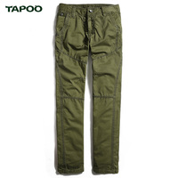 2017 TAPOO Brand Mens Military Cargo Pants Multi-pockets Baggy Men Pants Casual Trousers Overalls Army Pants ML0013