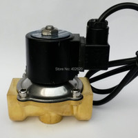 1'' port size DN25 IP68 Class Under Water Brass Electric Solenoid Valve Waterproof Coil Music Fountain Valve,DC12V,24V,AC220V