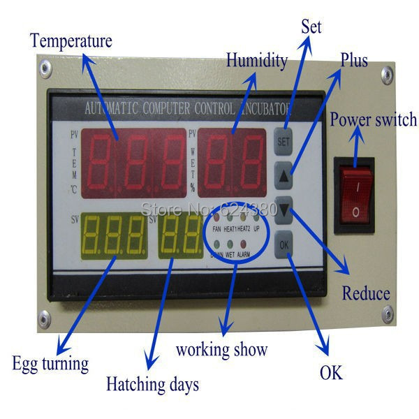 Full automatic and Multifunction Temperature and Humidity Controller