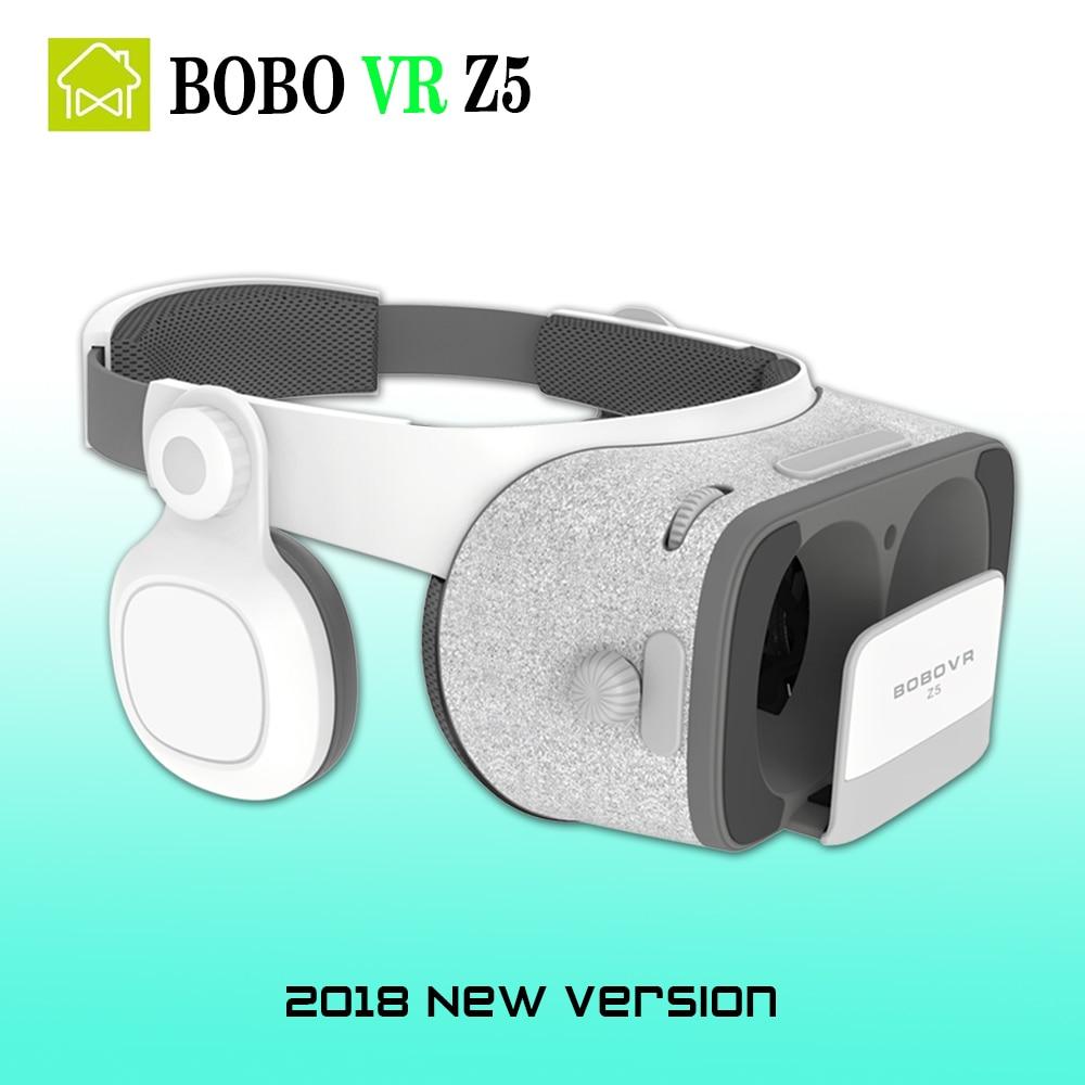 bobo vr z4 upgrade version bobovr Z5 Virtual Reality goggles 3D VR Glasses google cardboard with Headset Box for Xiaomi phone
