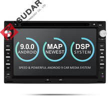 Isudar 2 Din Android 9 Auto Radio Per VW/Volkswagen/GOLF/POLO/TRANSPORTER/Passat b5 auto Multimedia DVD Video Player DVR GPS FM