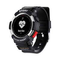 F6 Smart Sports Watch men IP68 waterproof Swimming GPS wristwatch Heart Rate Monitor pedometer smartwatch clock For Android IOS