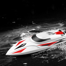 Simulation Speedboat 2.4G Remote Control Boat 40KM/H High Speed Toy Boat Model Water Cooling System Remote Control Speedboat цена