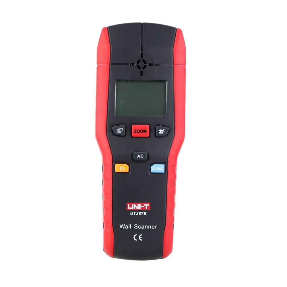 UT387B Wall Detector Multifunctional Handheld Wall Tester Metal Wood AC Cable Finder Scanner Industrial Metal Detectors