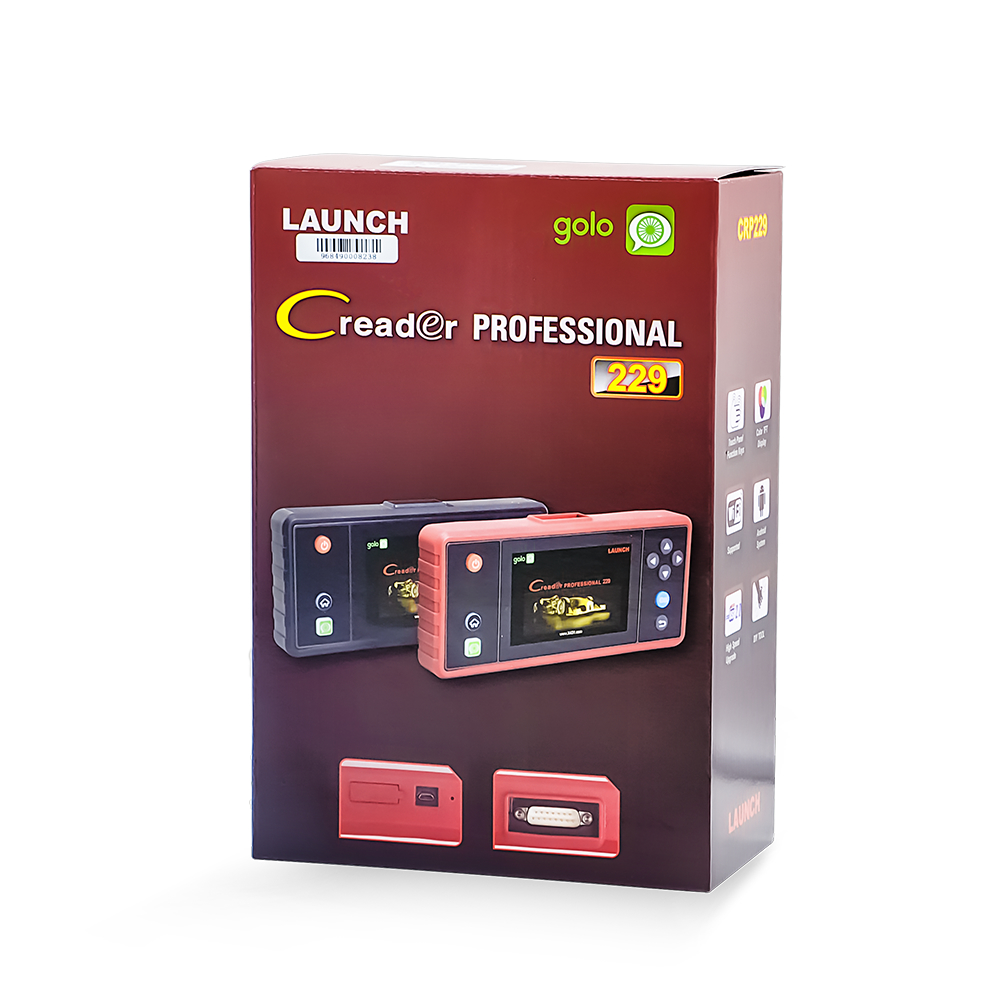 original Launch x431 Creader Touch 5.0 Android System OBD2 Full Diagnostic Update Online Wifi Supported CRP 229 Code Reader