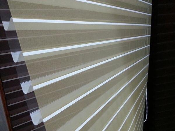 5da3f45f9121d Custom Made Przezroczyste shangri-la Rolety w Jasnożółty Okna Zasłony do  Salonu 6 Kolory są Dostępne