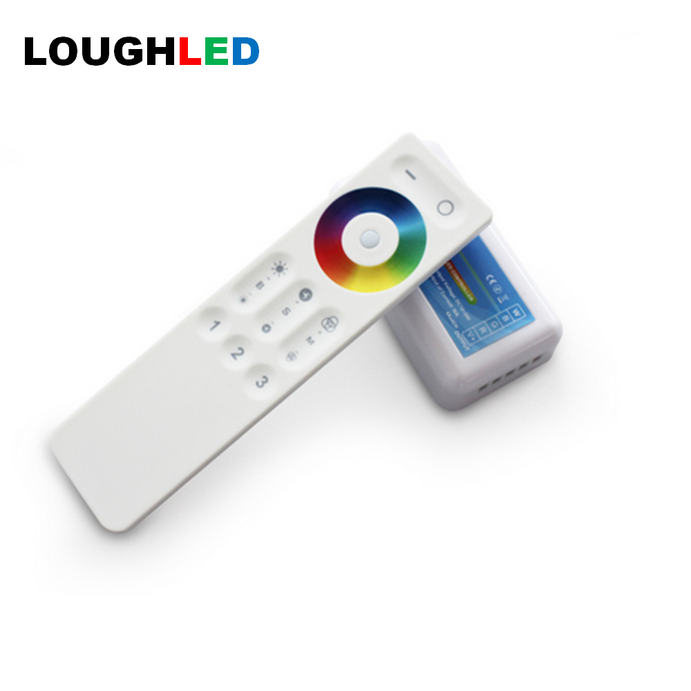 Wireless RF 2.4G 3 Zone Touch Remote RGBW LED Controller DC12V~24V RGBW LED Controller, 2.4G LED Controller