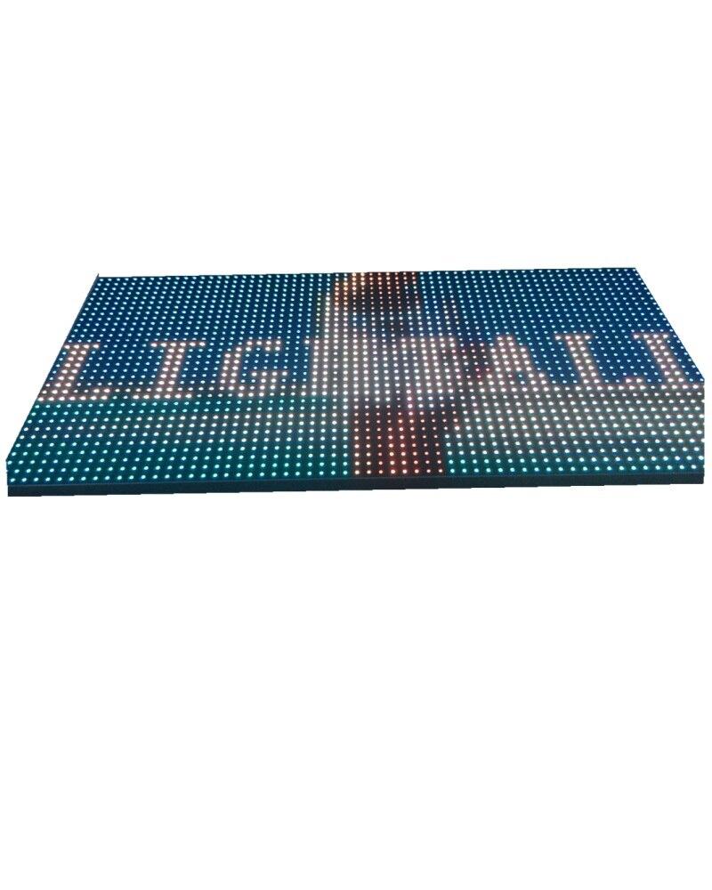 32 X 16 Dots P10 Indoor Module Brightness 1500cd/m2 75hub 10000dots/m2 Dot Matrix 4S/8S Led Mdoule 320*160mm 1RGB Led Display